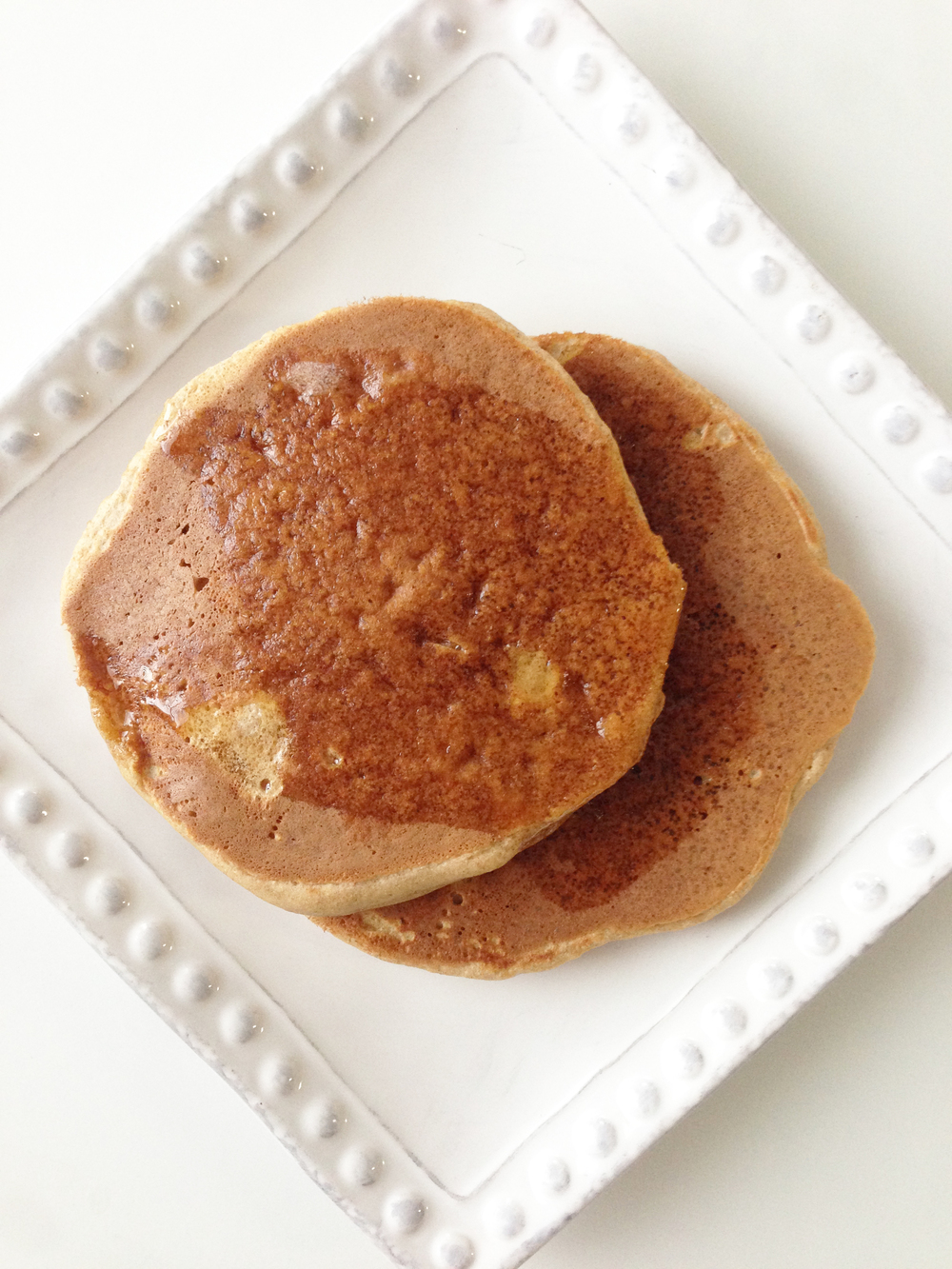Skinny Whole Wheat Buttermilk Pancakes — The Skinny Fork