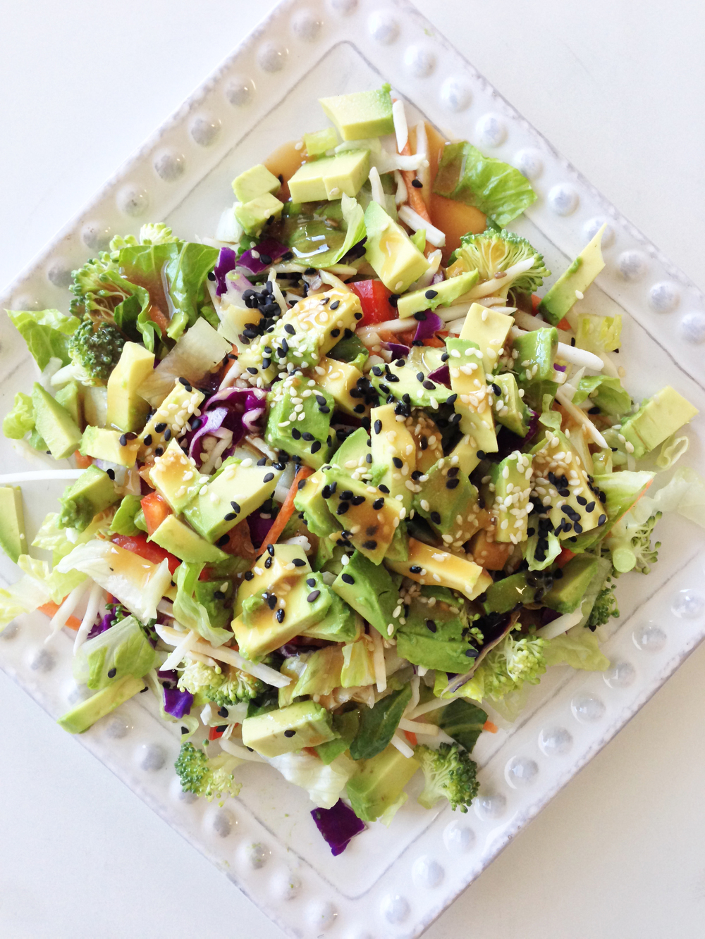 system it s this salad there s so many good things in this salad that ...