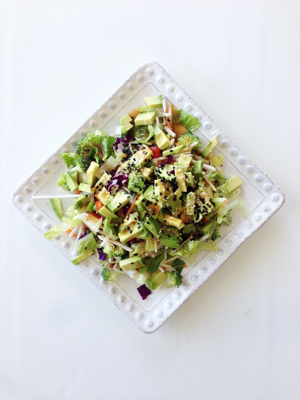 Rainbow Slaw Salad Recipe — Dishmaps