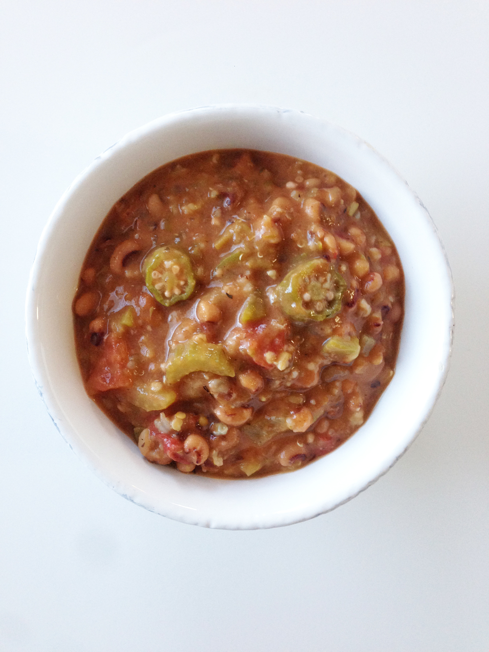 Black-Eyed Pea Gumbo — The Skinny Fork