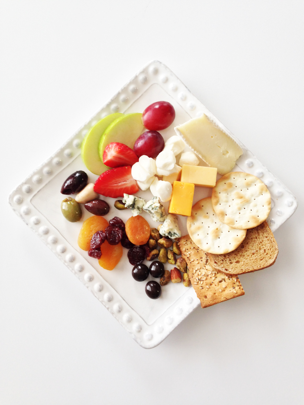 Anatomy of a Cheese Plate : plate of cheese - pezcame.com