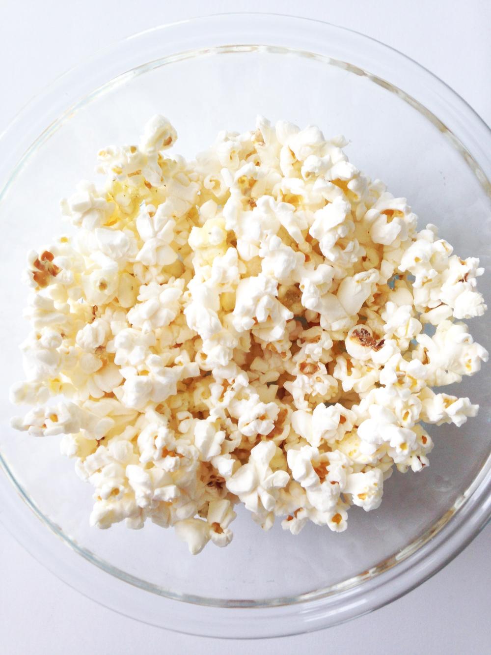 Plain Popcorn Bags Some Plain Popcorn Kernels