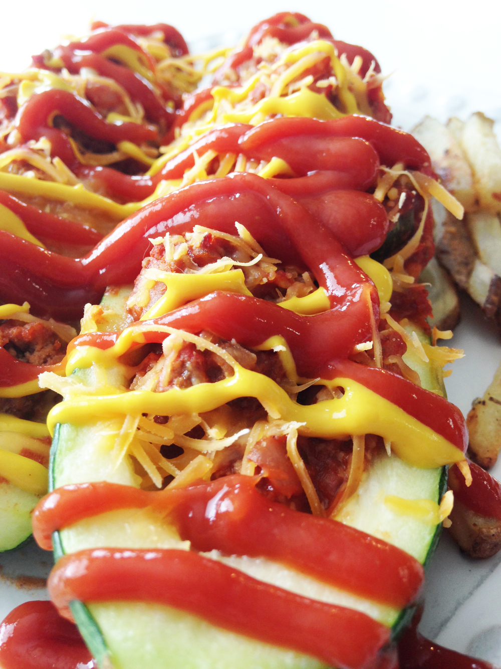 Cheeseburger Stuffed Zucchini Boats — The Skinny Fork