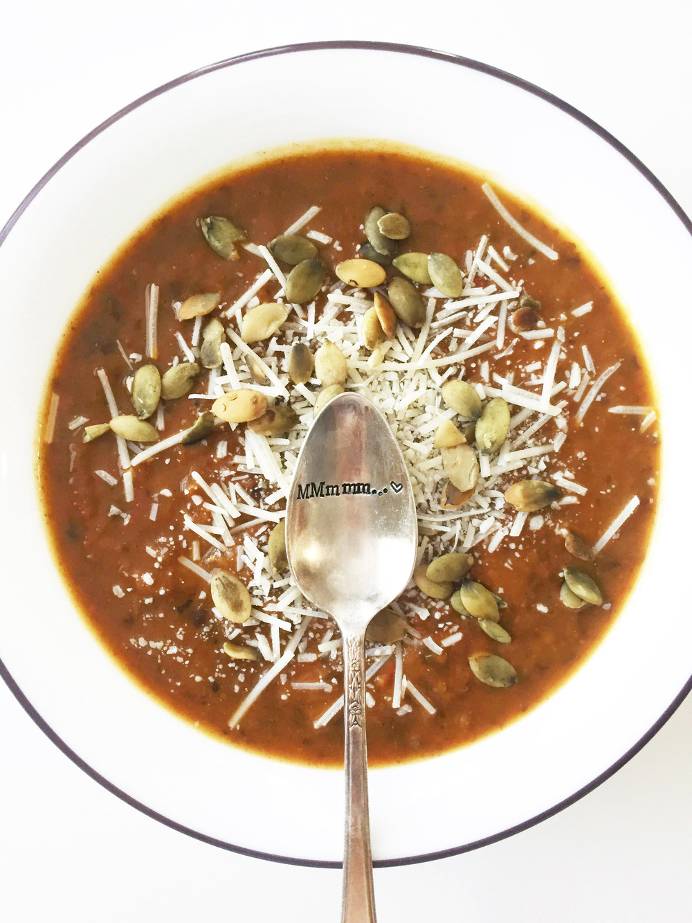 Pumpkin & Black Bean Soup — The Skinny Fork