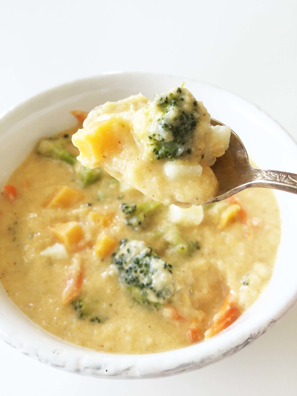 Skinny Broccoli Cheese Soup — The Skinny Fork