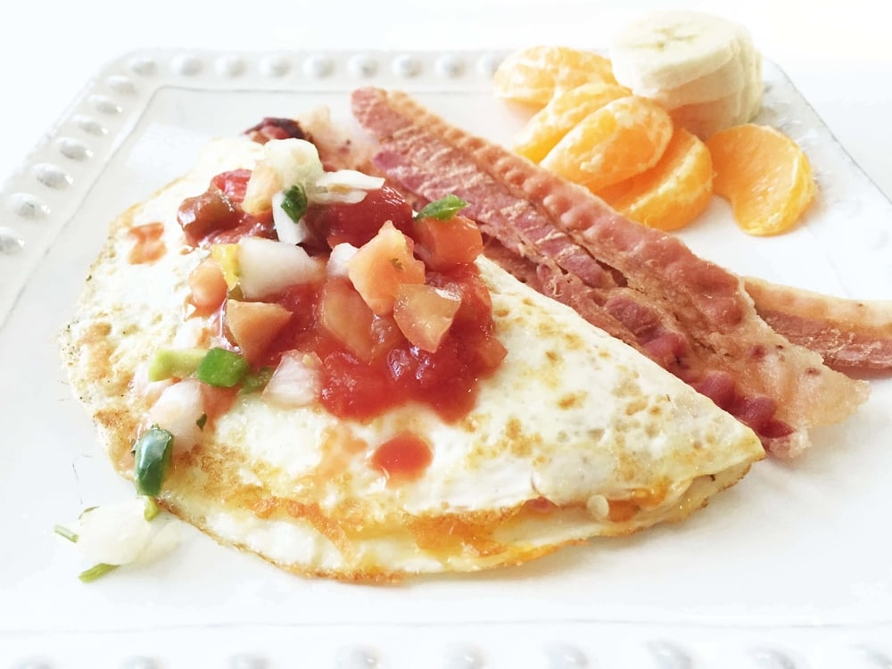 Skinny Cheese Omelette — The Skinny Fork
