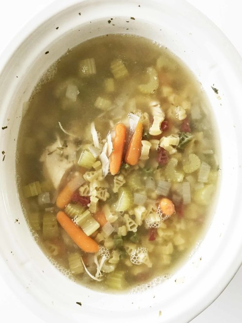 Healthy Crock Pot Chicken Noodle Soup — The Skinny Fork