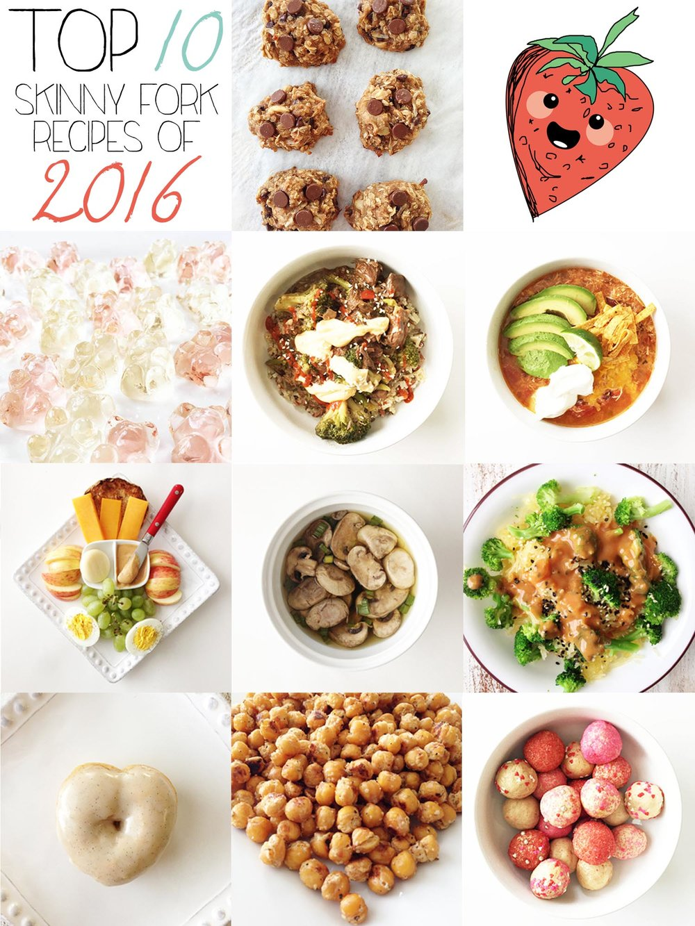 Top 10 Recipes Of 2016 The Skinny Fork