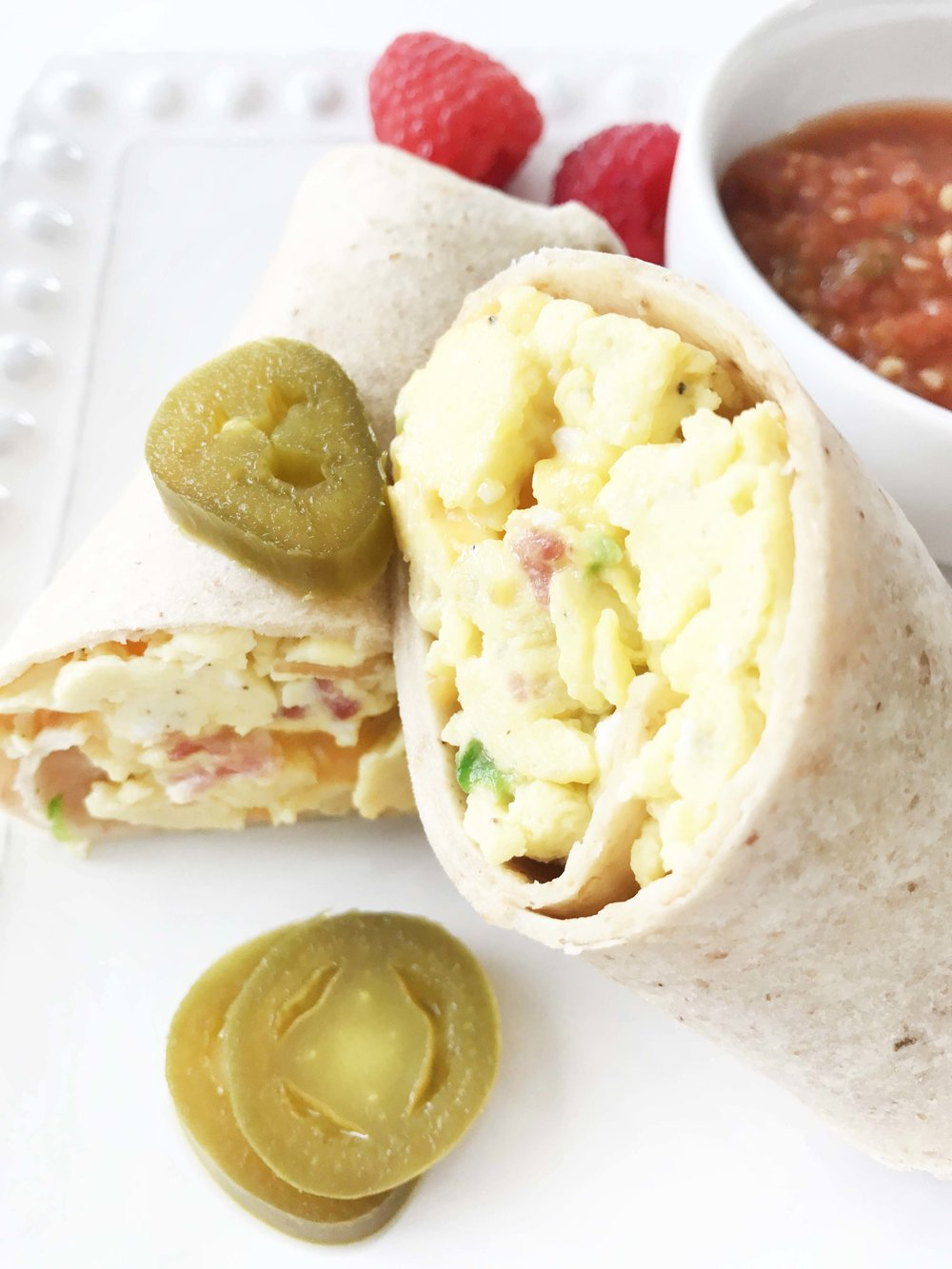 These Burritos Are Really Simple To Make And Can Last You All Week Long If  You Prepare Them Ahead Of Time, Giving You A Great Grabandgo Breakfast  Option