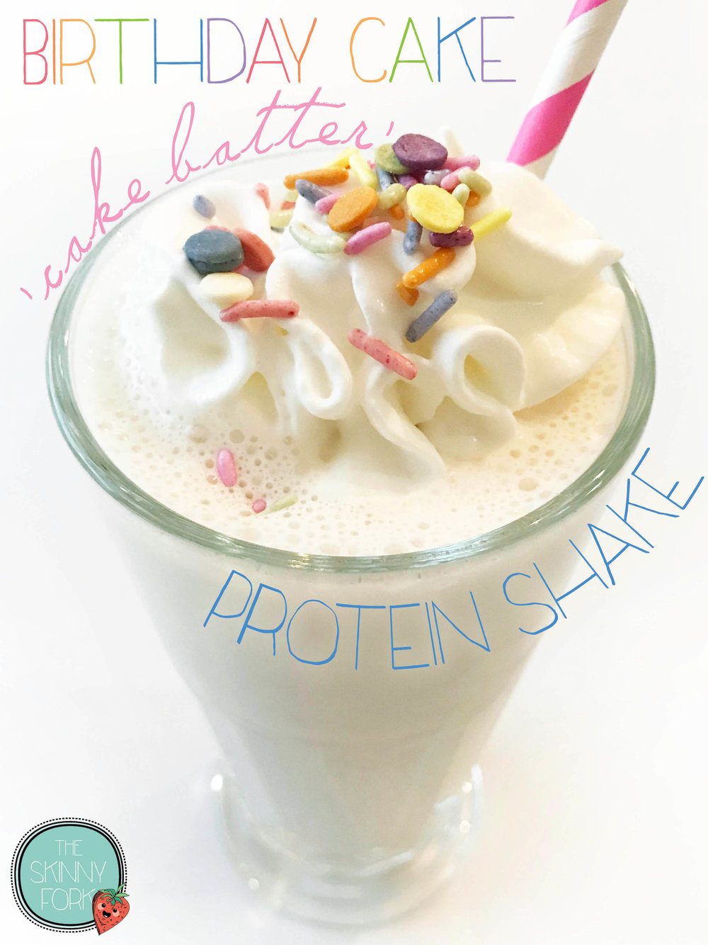 Birthday Cake Shake Pin