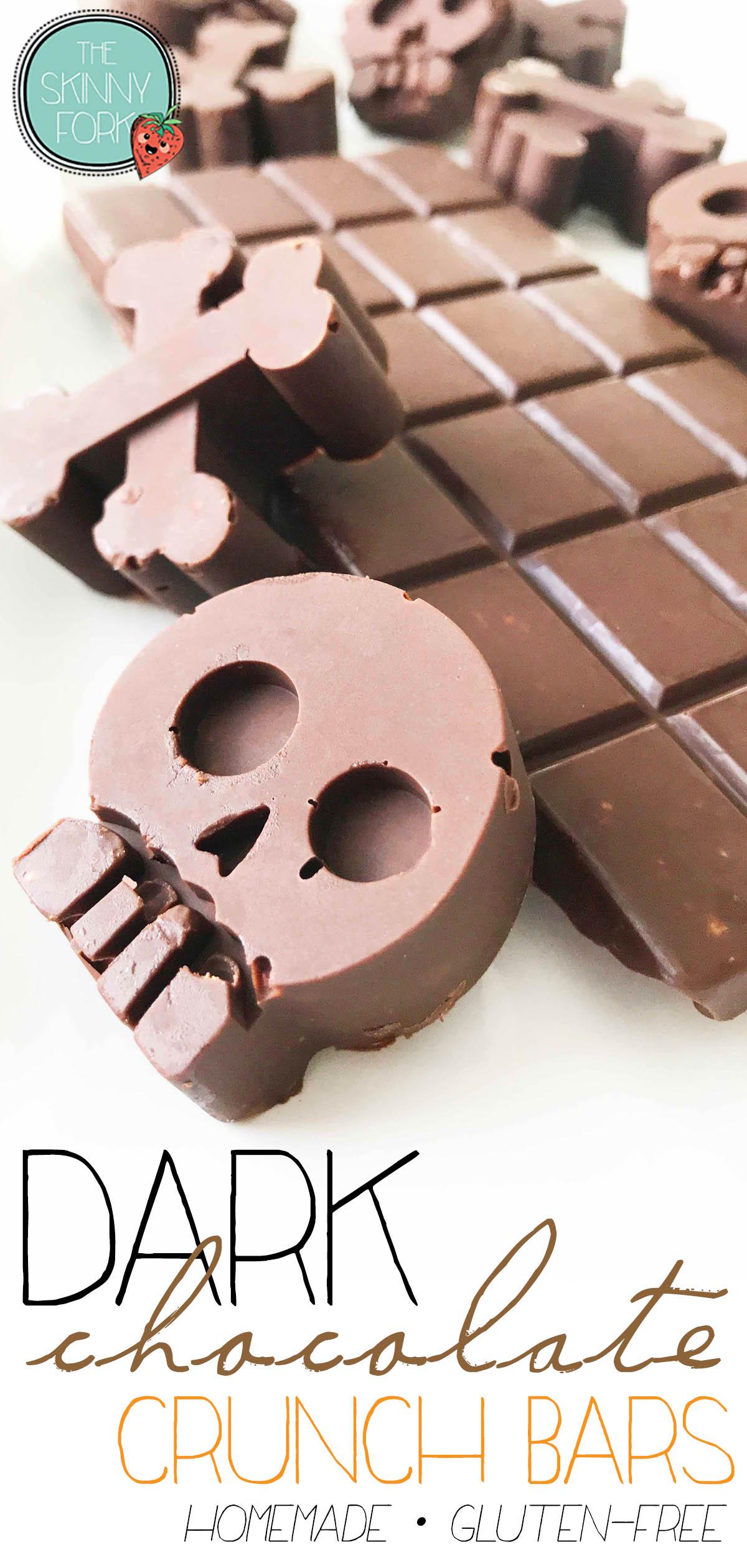 Dark Chocolate Crunch Bars
