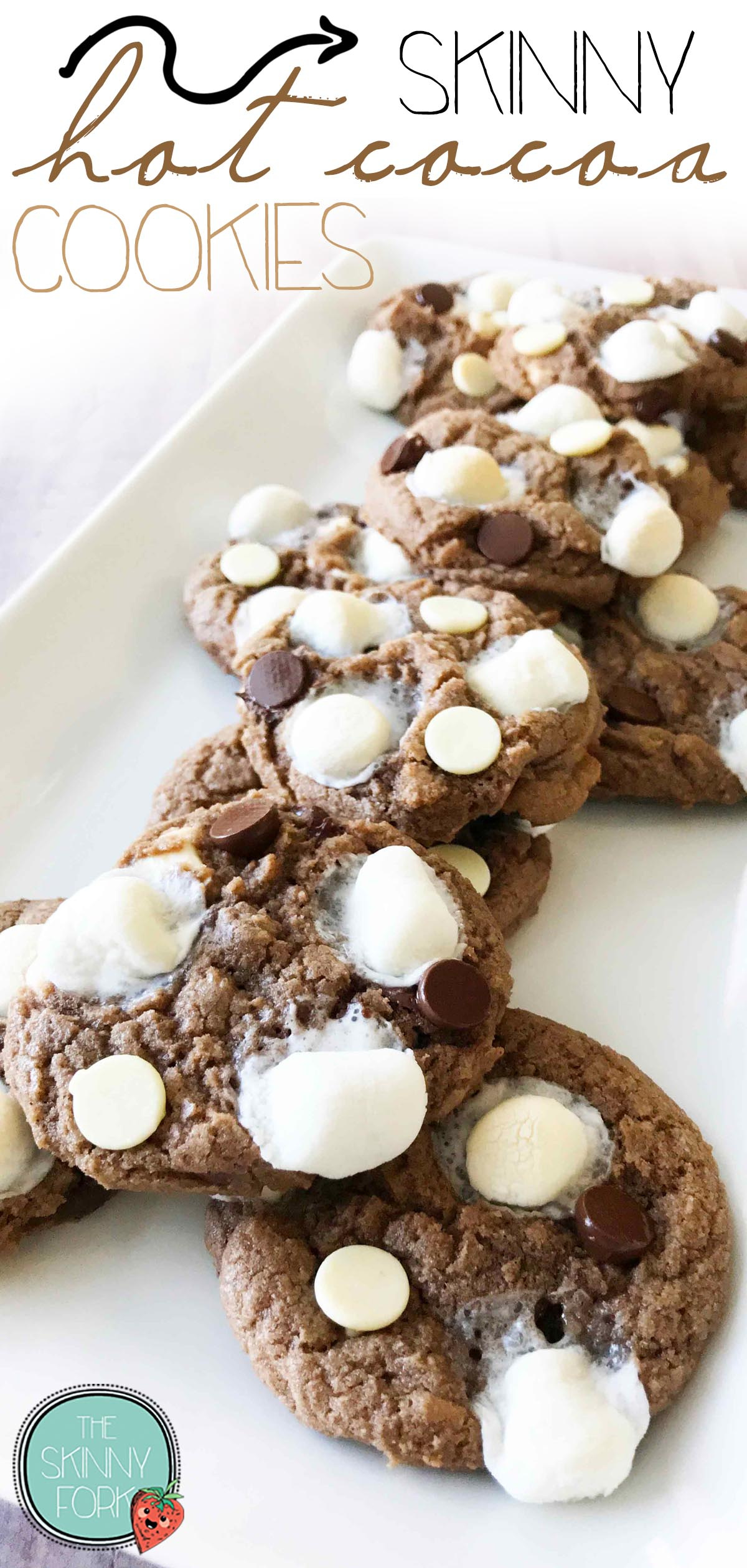 Skinny Hot Cocoa Cookies