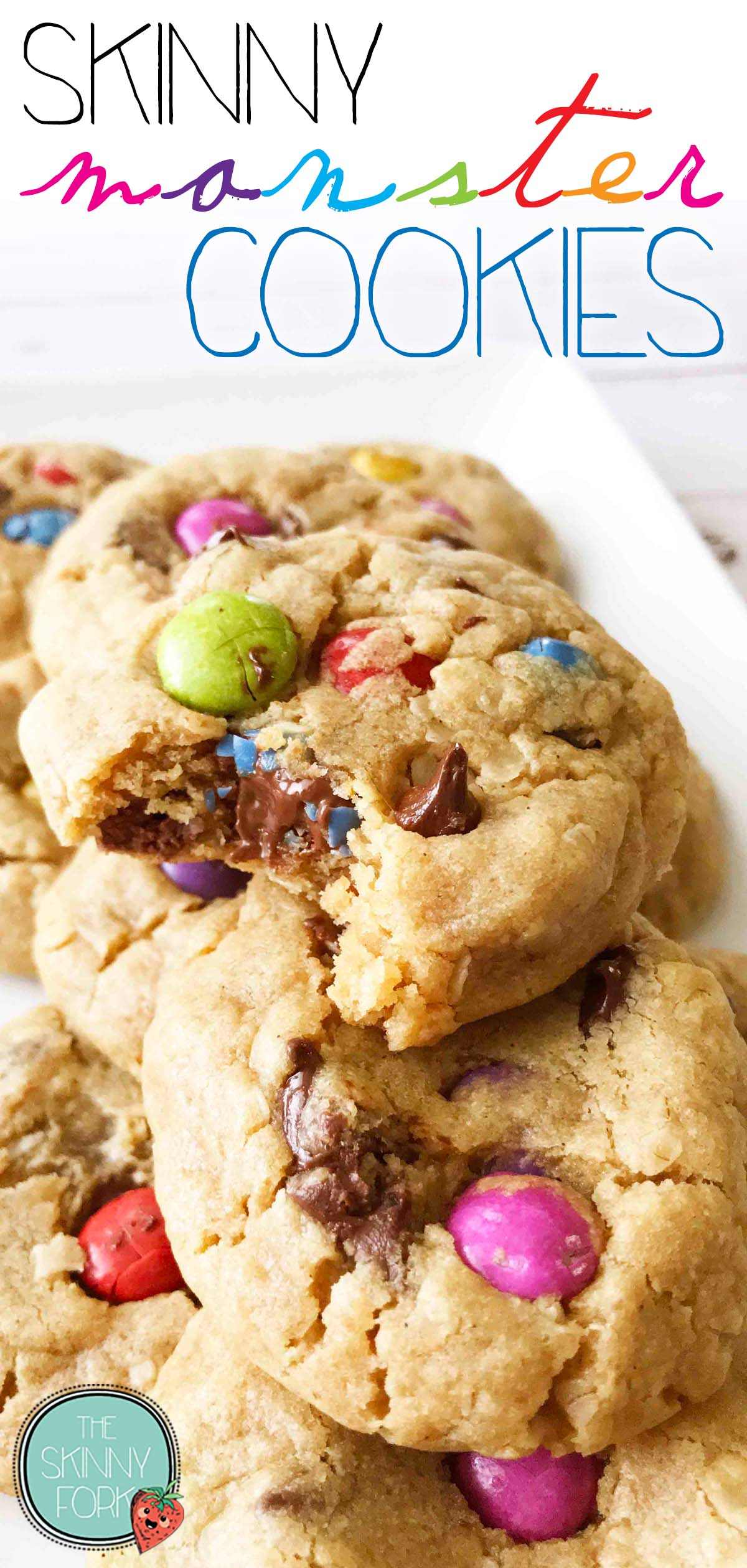 Skinny Monster Cookies