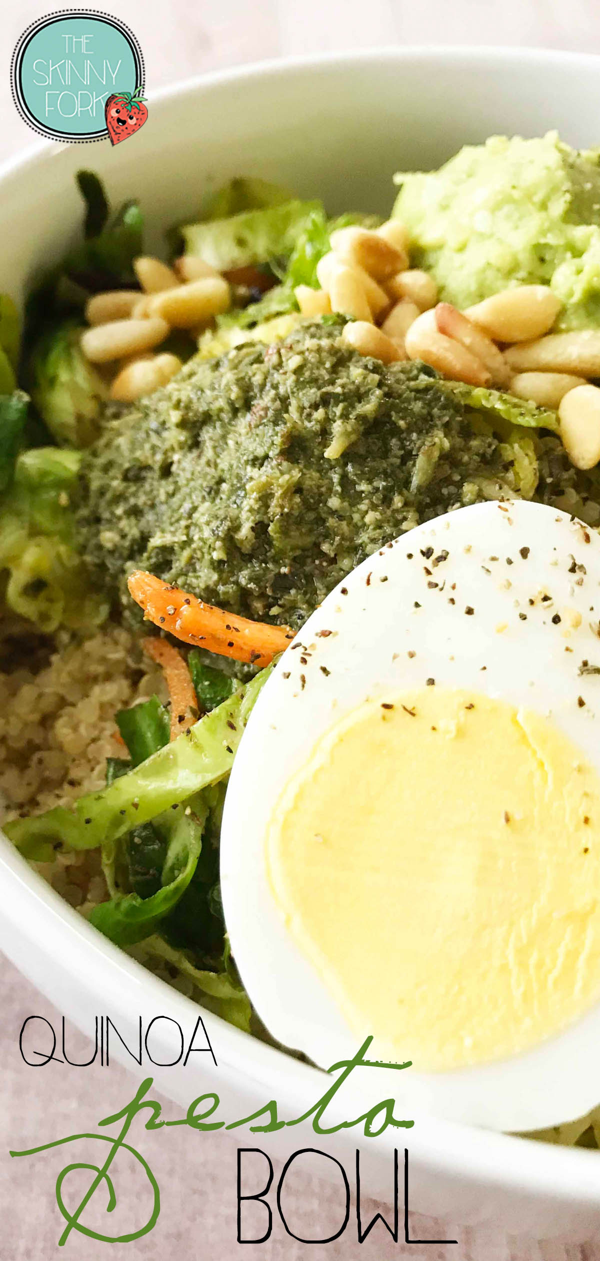 Quinoa Pesto Bowl
