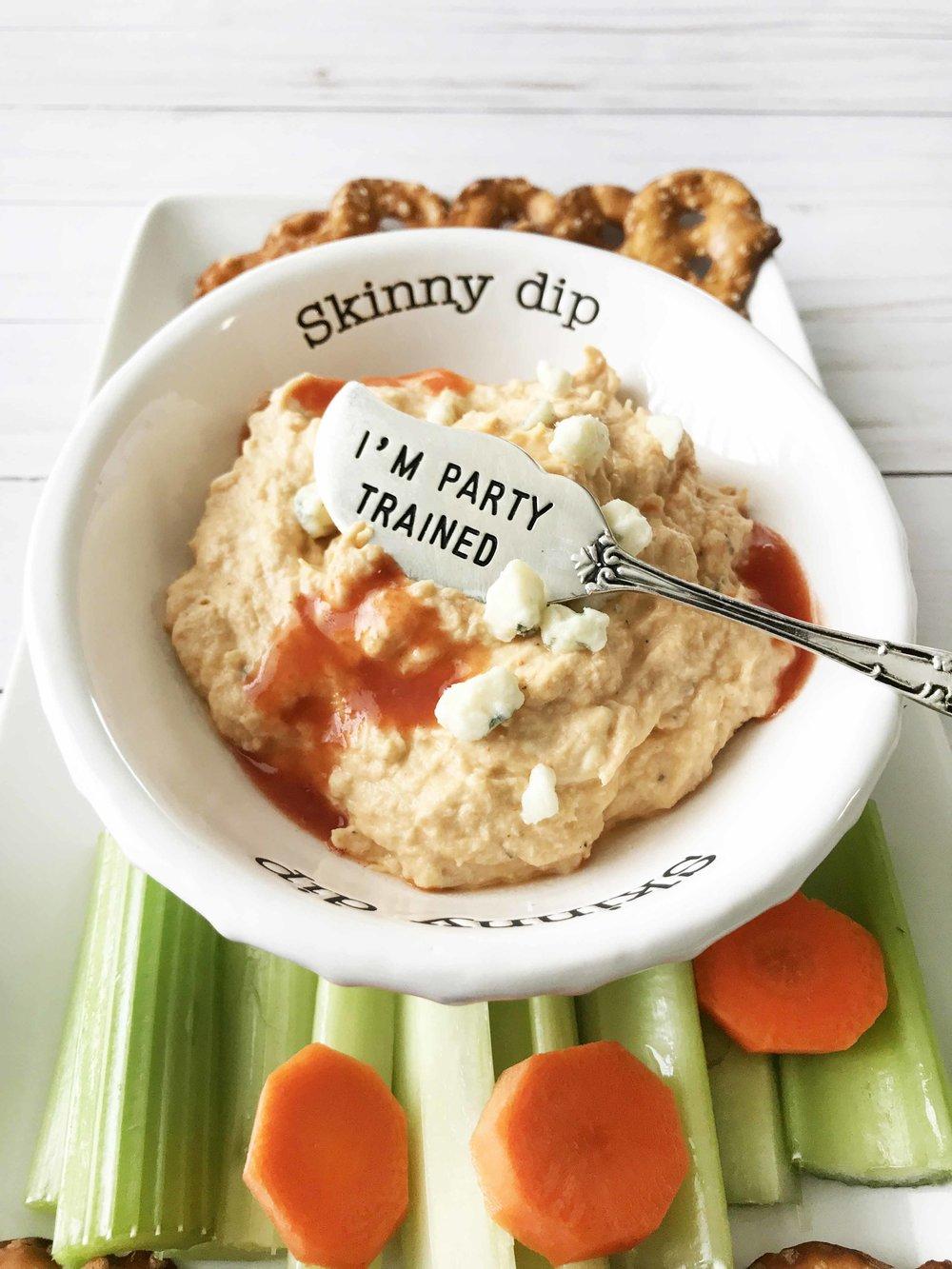 Skinny Buffalo Chicken Dip — The Skinny Fork