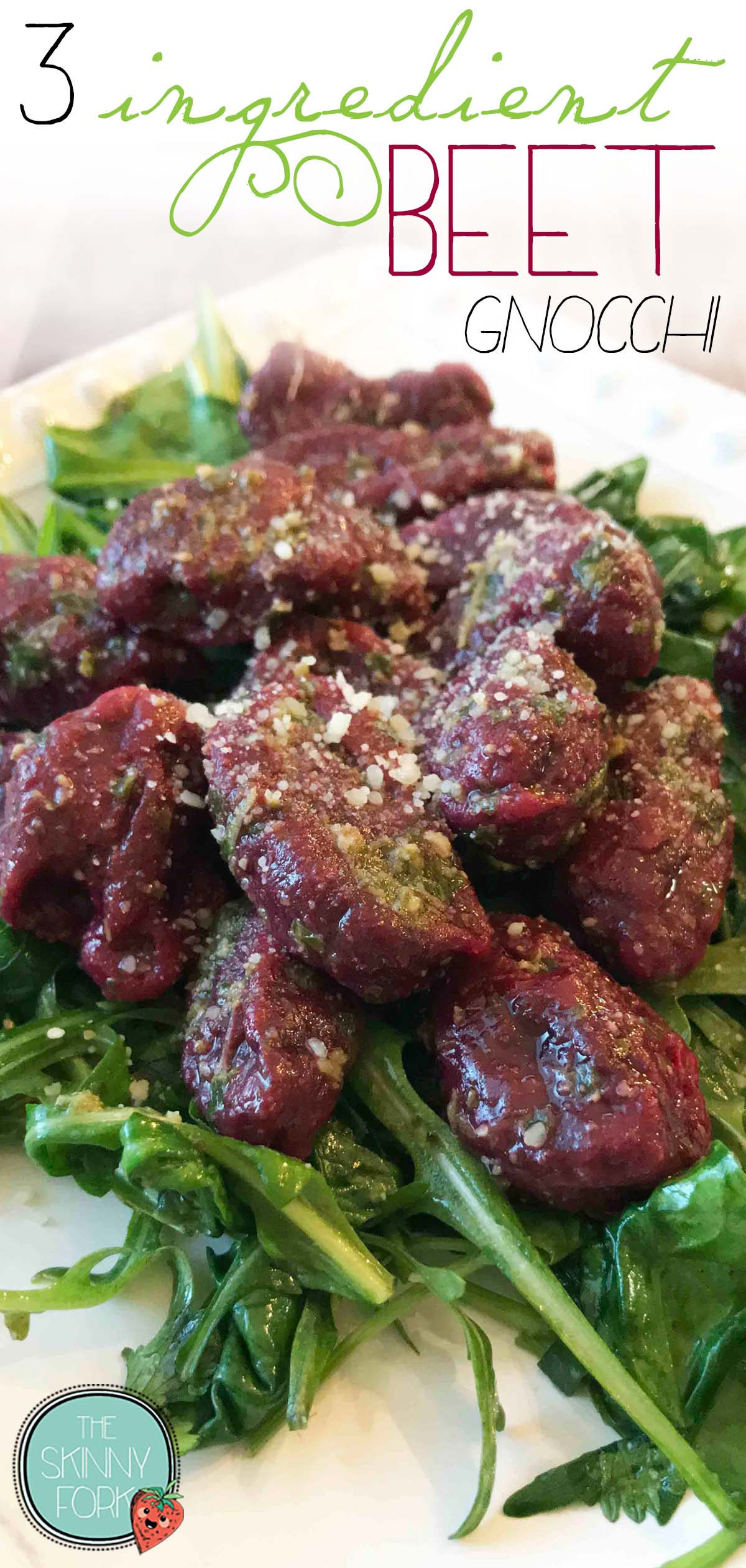 3 Ingredient Beet Gnocchi