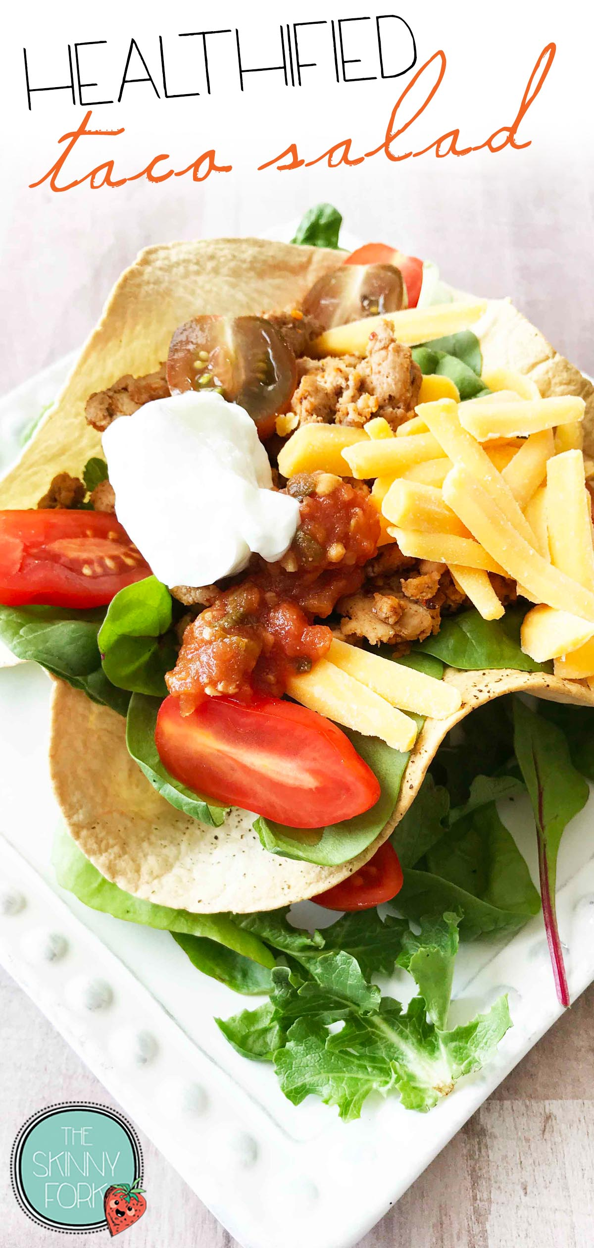 Healthified Taco Salad