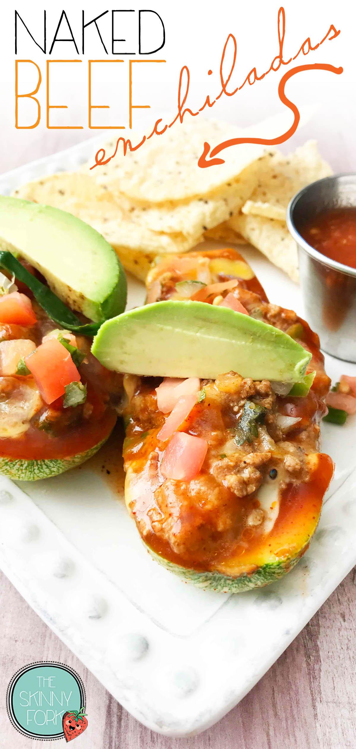 Naked Beef Enchiladas