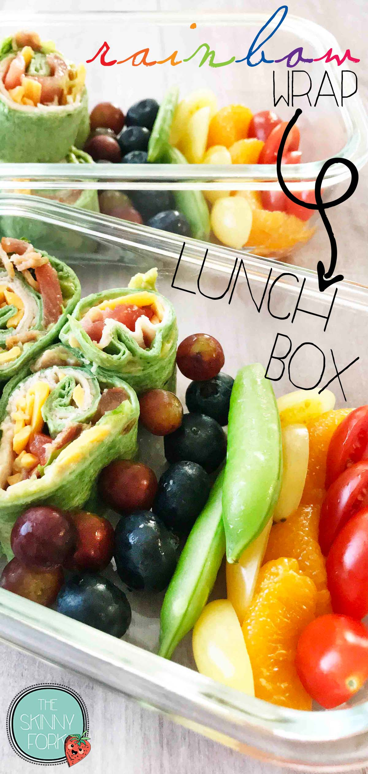 Rainbow Wrap Lunch Box