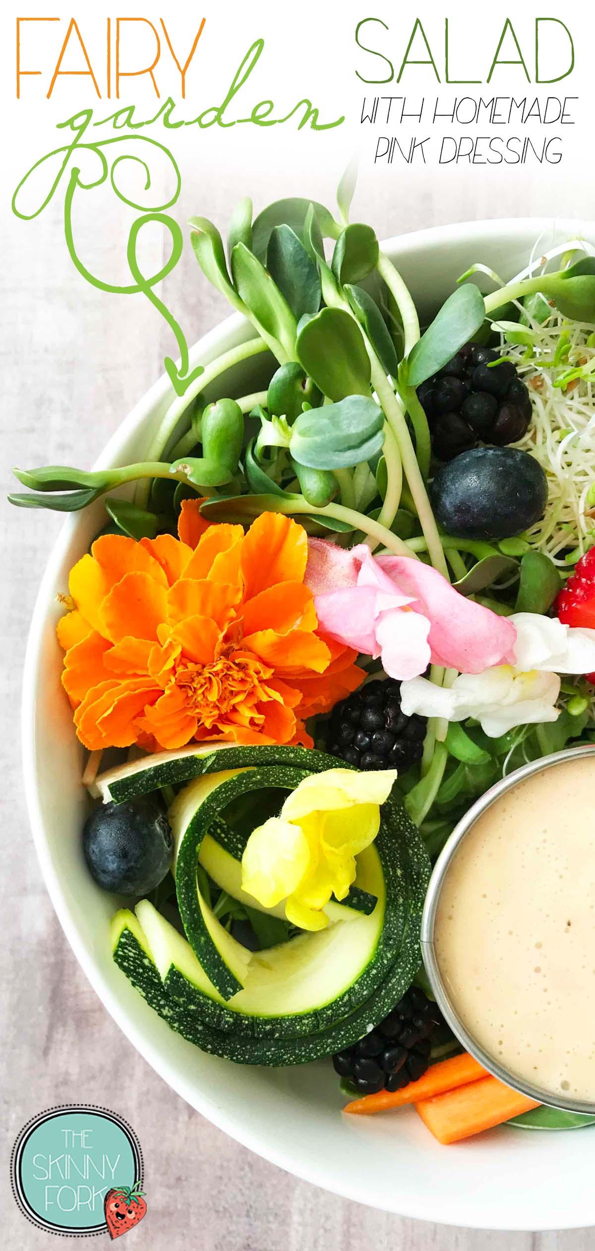 Fairy Garden Salad