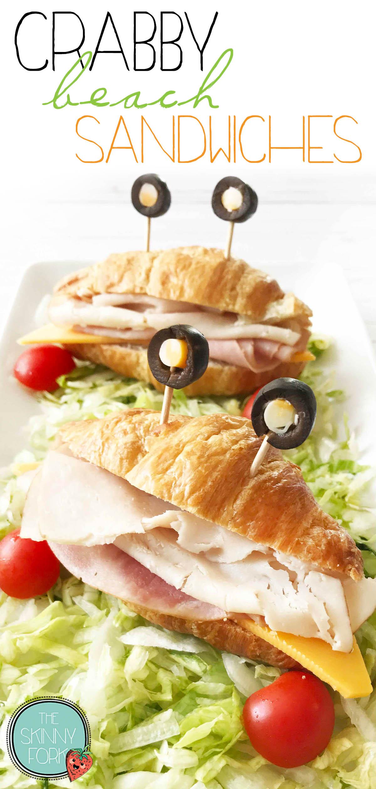 Crabby Beach Sandwich