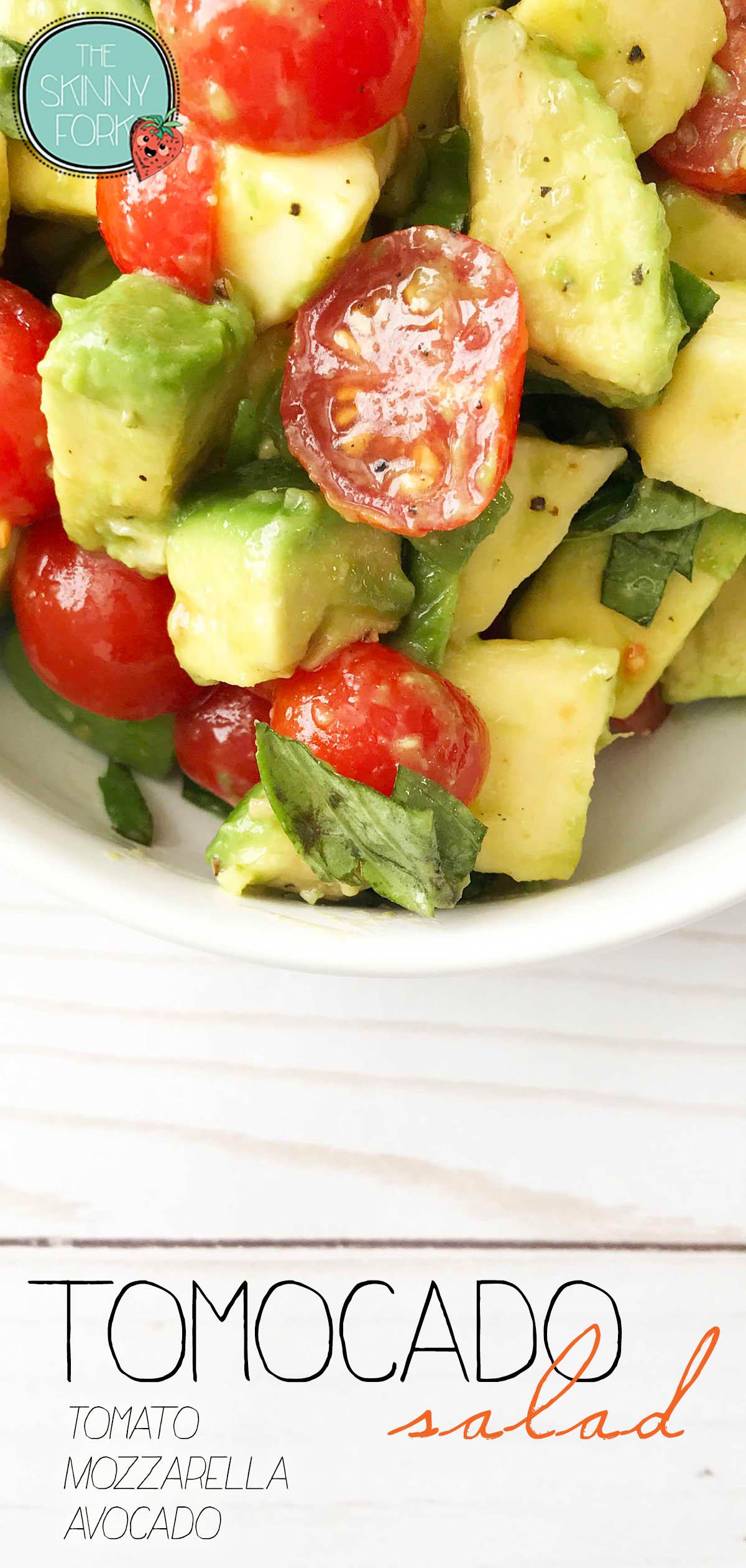 Tomocado Salad