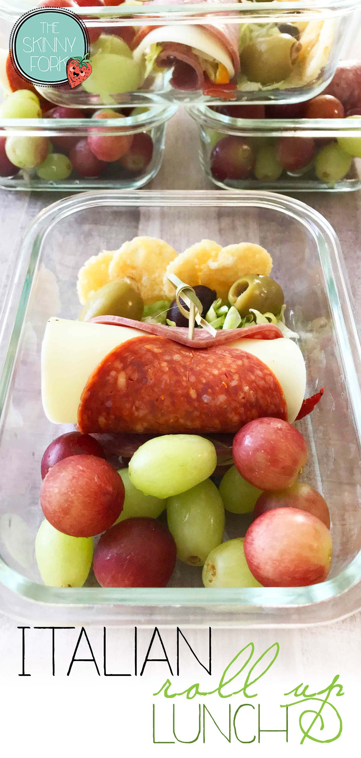 Italian Roll-Up Lunch