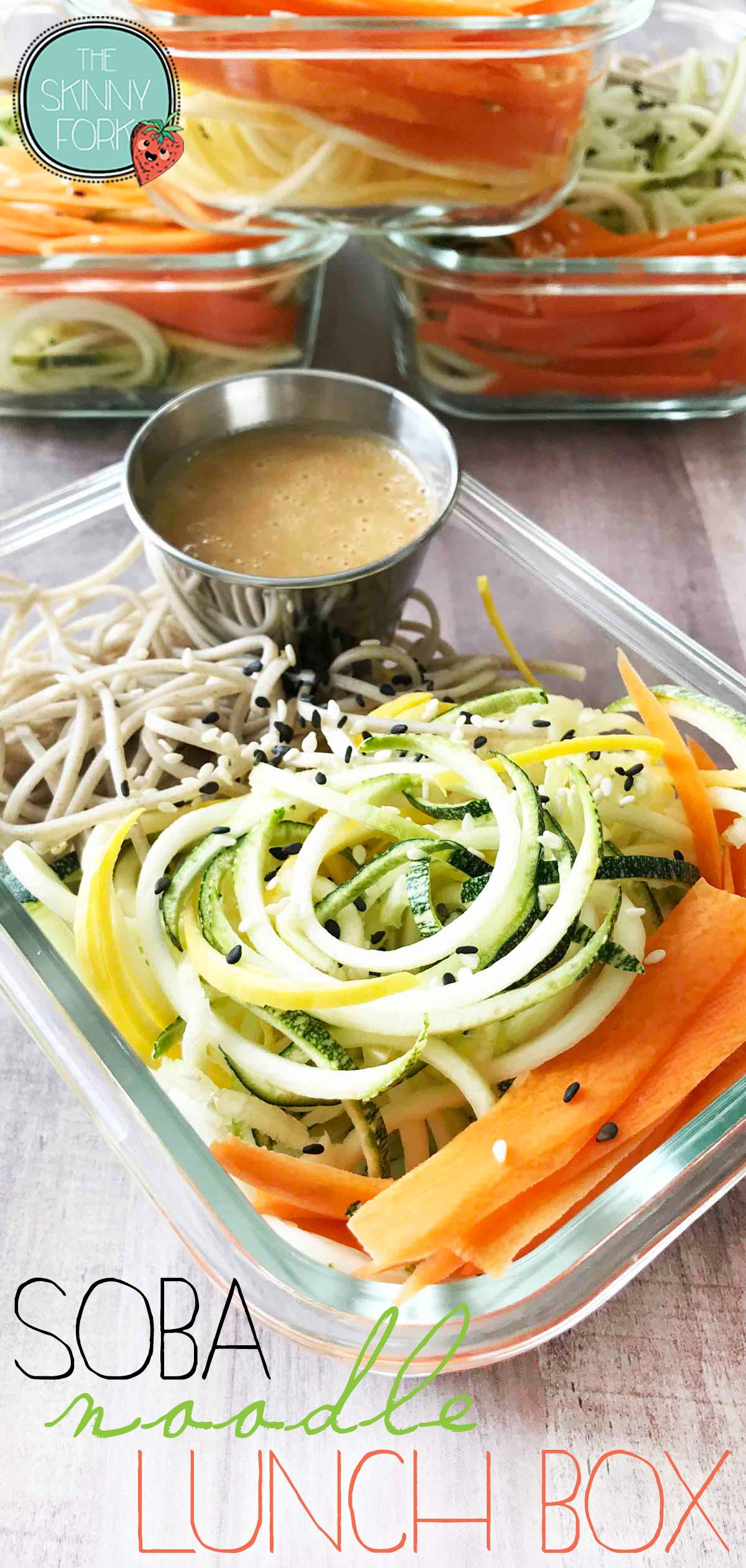 Soba Noodle Lunch Box