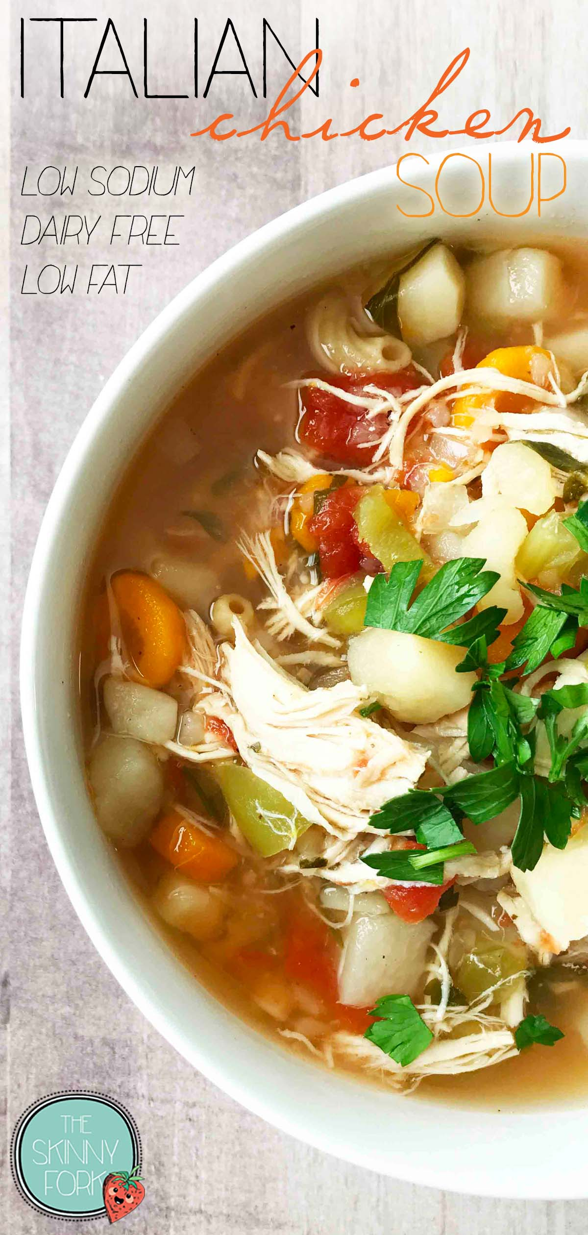 Italian Chicken Soup (Instant Pot)