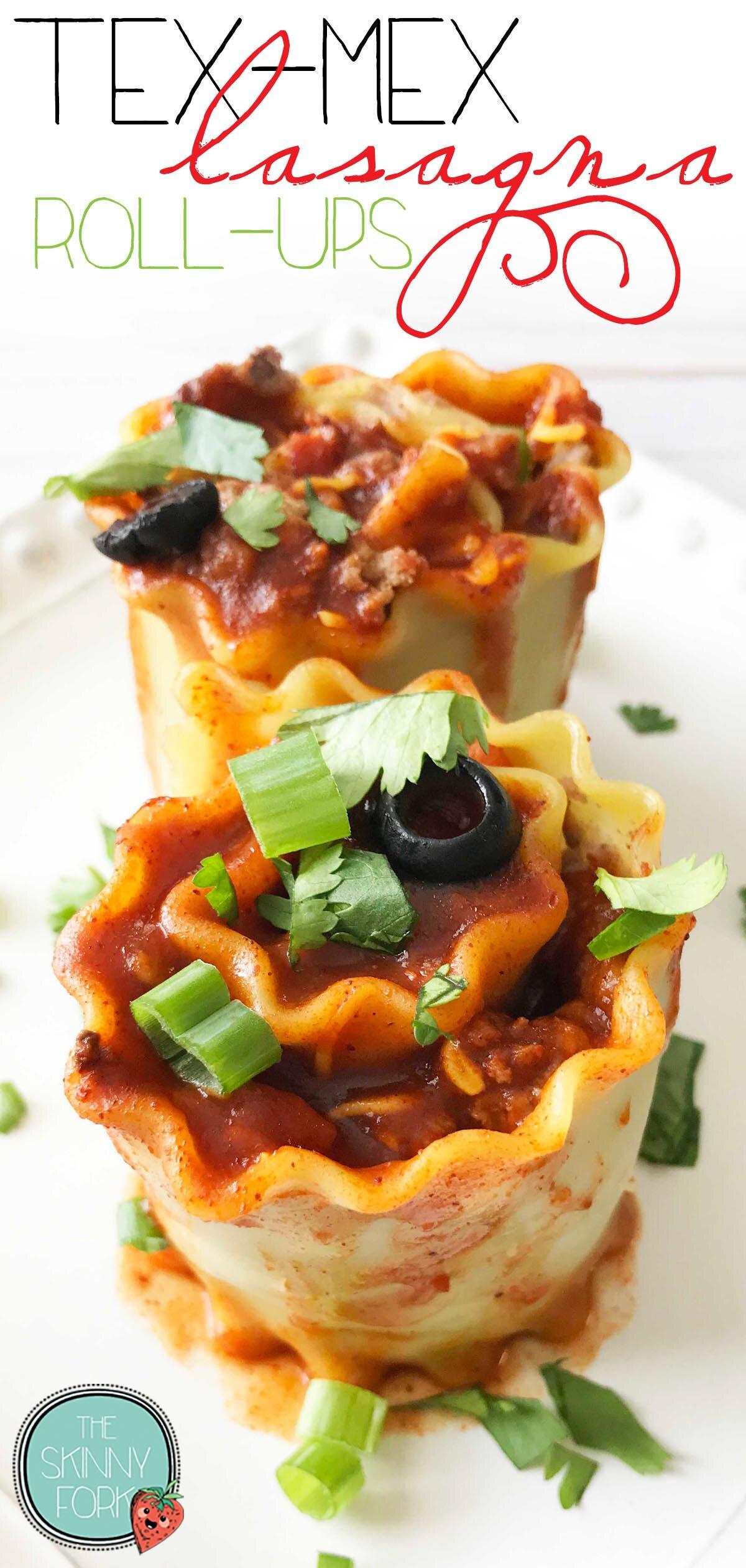 Tex-Mex Lasagna Roll-Ups