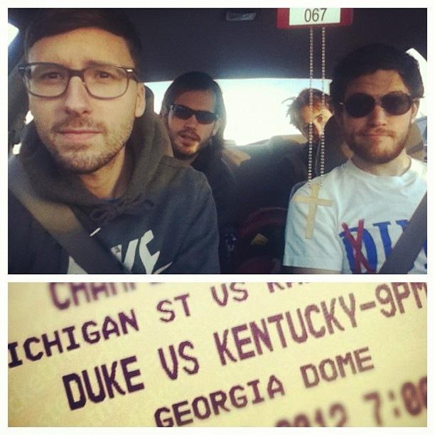 Atlanta bound.
