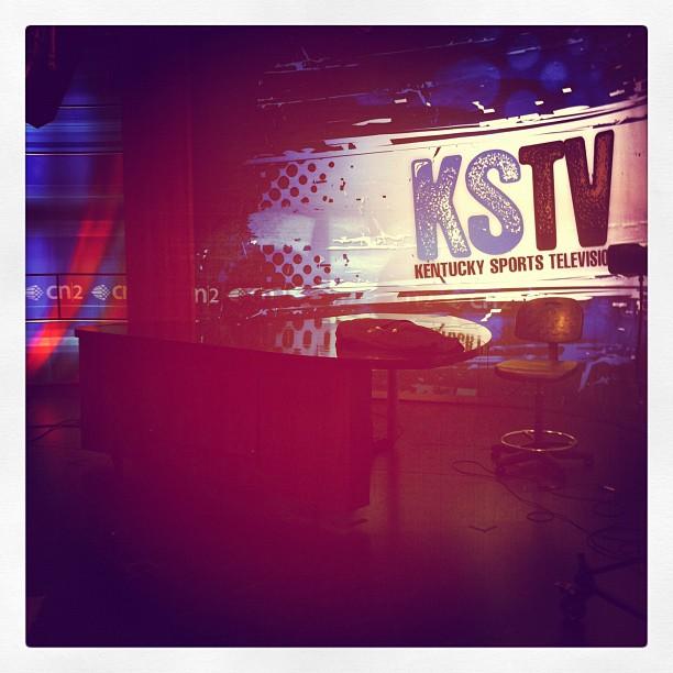 KSTV studio