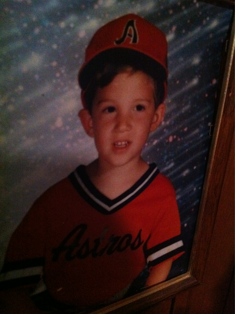 I used to swing bats.