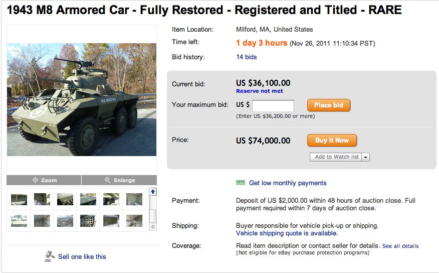 anybody wanna loan me $74,000?
