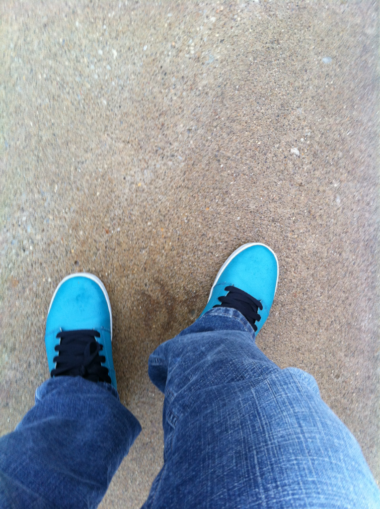 These Supras have become my rain shoes.