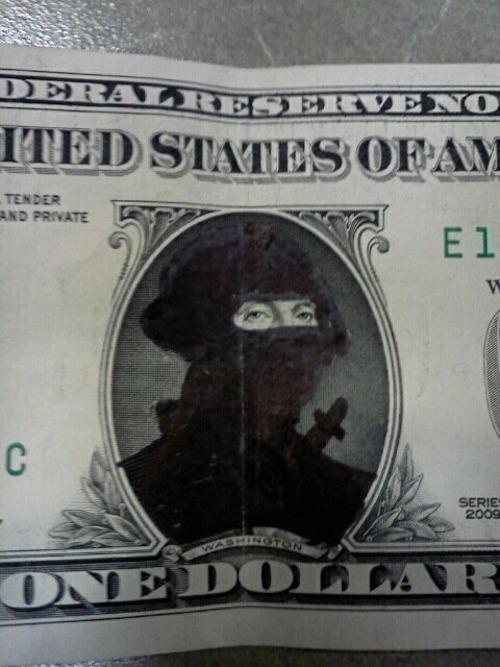 Ninja George Washington.