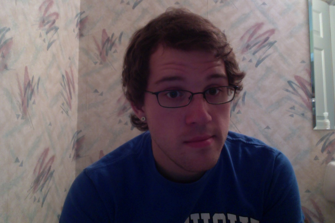 It may look dorky but I wish I could always get my hair to look like this.