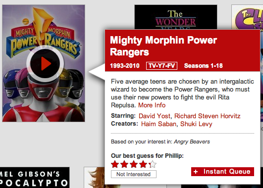 18 freaking seasons.    And it recommended it to me based on  Angry Beavers…