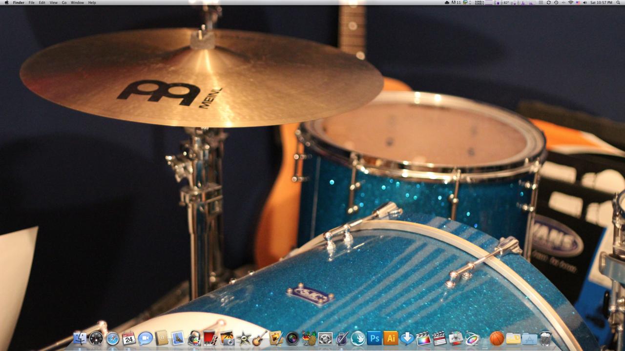 New fresh desktop.