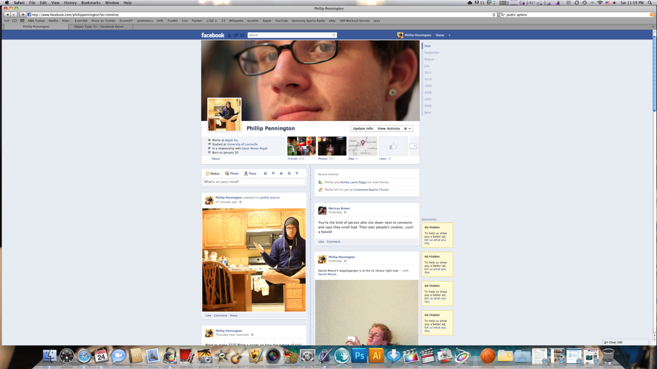 The new facebook is gonna dope. Stop your complaining now!