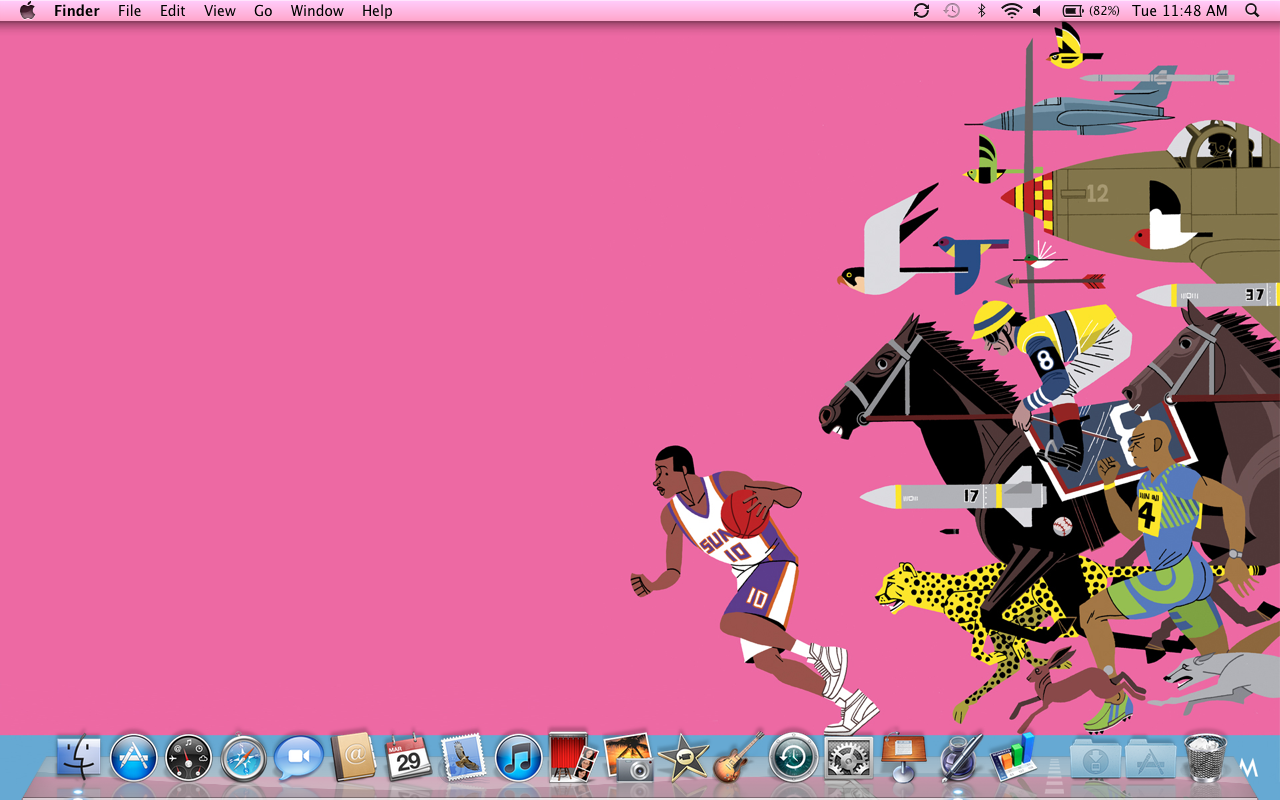 New laptop. New wallpapers.