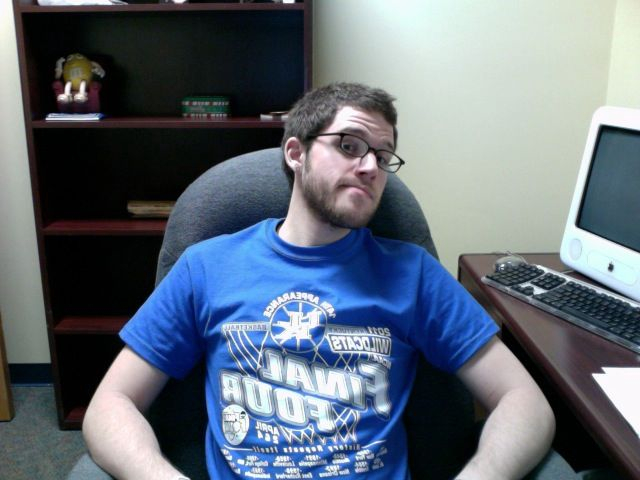 Chillin in the office rocking the fight song all day