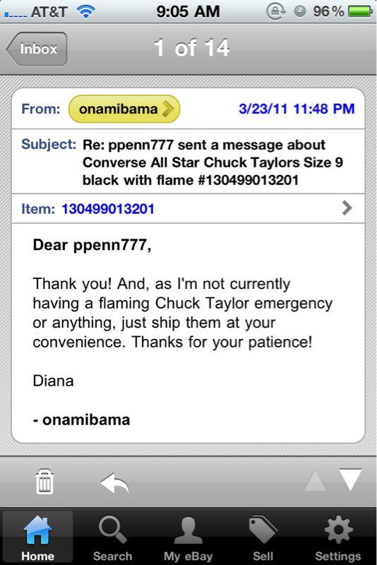 Sometimes people on eBay are rad.