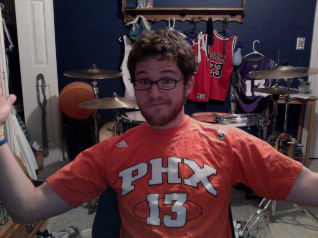 The  SUNS BEAT  the  LAKERS.  Which means  IM SO HYPED RIGHT NOW. Despite Kobe's 39pts The Suns win game 3 with STAT throwing down 42 pts as well as Steve  NASHTY  getting 17pts 15 assist and only 1 turnover! Such a good game.    I'm gonna use this extra energy to play video games until I pass out.