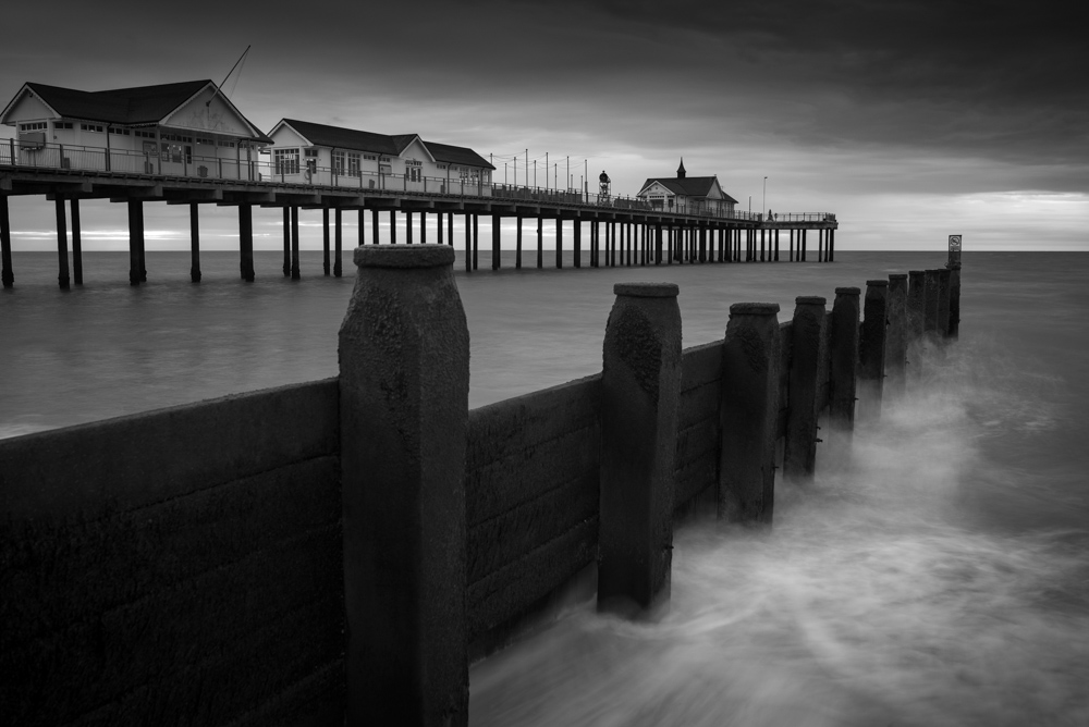 Parallel to the PIer