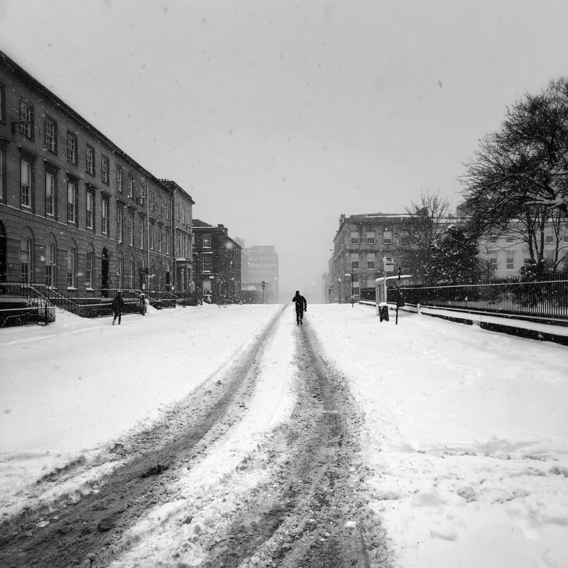 Glasgow Snow
