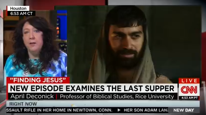 A screen shot from CNN New Day Weekend, Sunday March 15, 2015