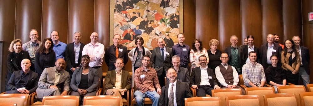 Conference Members, photo courtesy of Benjamin Brochstein