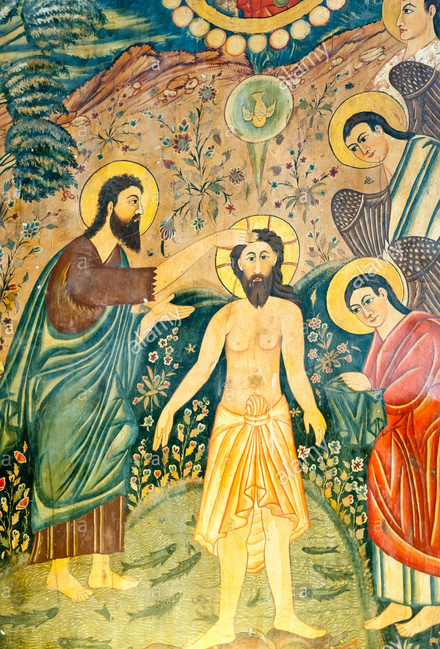 armenian-apostolic-church-mural-baptism-of-jesus-christ-by-john-the-F7T9NK.jpg