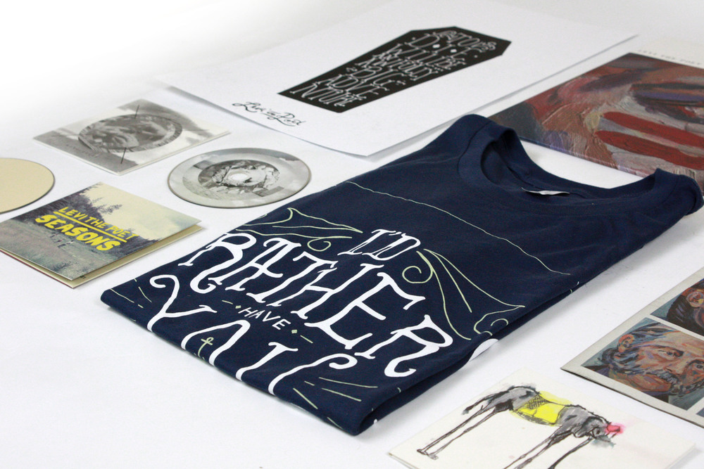 A BRAND NEW LEVI THE POET STORE  READ / LISTEN / WEAR / COLLECT   SHOP NOW